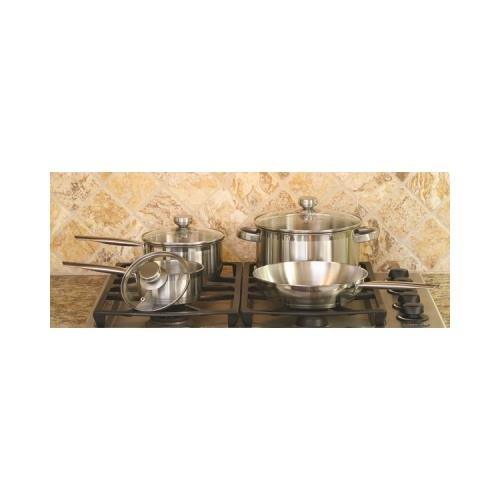 Base Encapsulated (JAYBRAKE Cookpro 503 Steel Cookware Set 7Pc Encapsulated Base PRO503)
