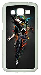 Samsung Galaxy Grand 2 7106 Cases & Covers -Explosive Custom PC Hard Case Cover for Samsung Galaxy Grand 2 7106¨C White