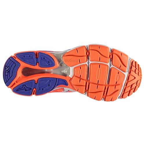 Mizuno Wave Ultima 8Laufschuhe Damen COR/BLU Turnschuhe Sneakers Sport Schuh