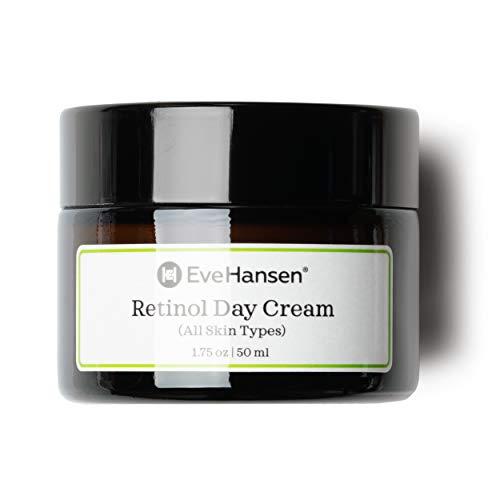 Retinol Day Cream by Eve Hansen - Look Youthful With Natural Retinol Moisturizer