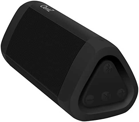 OontZ Angle 3 PLUS Splashproof Bluetooth Speaker - Designed & Engineered by Cambridge SoundWorks for Richer Bass, HD Sound, and 30-Hour Playtime, 10W+ Power, Water Resistant, Portable Wireless Speaker