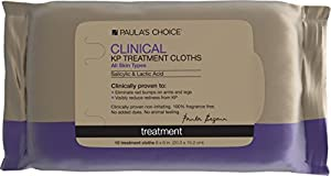 Paula's Choice Clinical Keratosis Pilaris Treatment Cloths with 2% Salicylic Acid & 8% Lactic Acid- 10 Cloths made by Paula's Choice