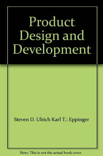 karl t ulrich product design and development pdf