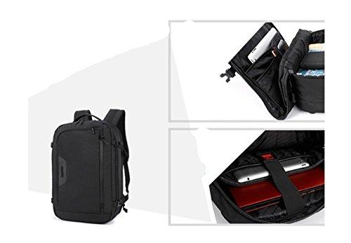 BigForest Business laptop Rucksack Travel Briefcase Backpack Satchel computer notebook handbag for School Work Blue