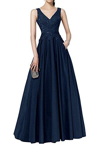 Brautmutter Blau Damen La Festlichkleider Kleider Abendkleider Jugendweihe Lang Marie Kleider Spitze Burgundy Navy Braut qwUBT