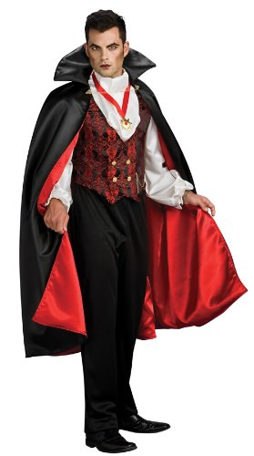 Rubie's Costume Transylvanian Vampire, Multicolored, One Size Costume (Vampire Costume Men)