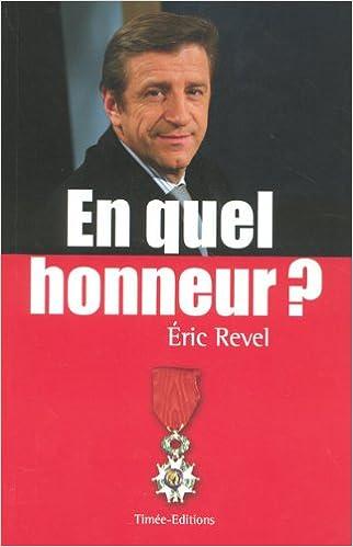Livres En quel honneur ? pdf epub