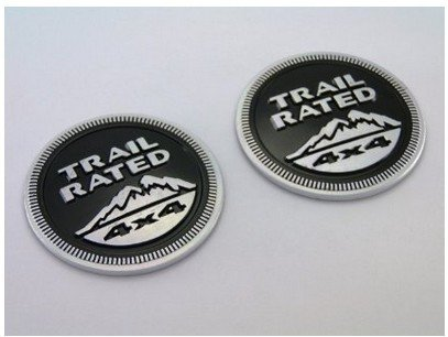 trail rated emblem jeep - 1