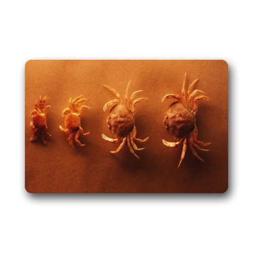 Crab-From-Big-To-Small-Order-Welcome-Doormat-IndoorOutdoor-Doormat-236-x-157-Nice-Fabric-Non-Slip-Bathroom-Doormat-Carpet-Mats