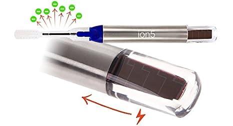 Soladey Ion5- cepillo de dientes ecológico, limpieza bucal sana, 2 cabezales- azul: Amazon.es: Salud y cuidado personal