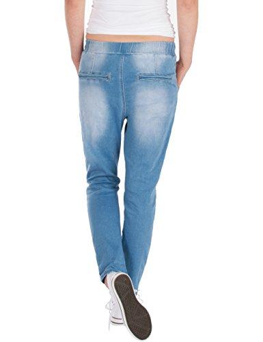 Pantalon Bleu Femmes Décontracté Fraternel Jeans Clair mNwv08n