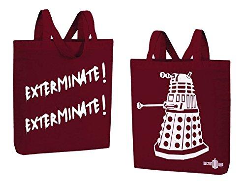 Doctor Who Dalek Exterminate! Exterminate! Large Tote Bag De Taller Para La Venta Barato Para La Venta Envío Libre Excelente Descuento Muy Barato 8WfLE