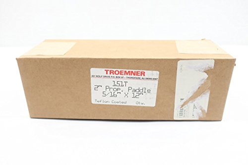 New TROEMNER 151T Propeller Paddle 2IN Dia 5/16IN X 12IN D612529 by Troemner