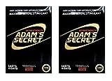 Adams Secret Amazing Black 100% Satisfactory Optimum Formula Pills for Performance, Energy, and Endurance 20 Pills Per Pack with Adam's Secret Original Inner Seal