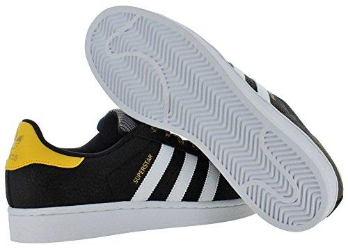 Adidas Superstar originales Cblack / ftwwht / bogold Casual Zapato 7,5 con nosotros Cblack/Ftwwht/Bogold