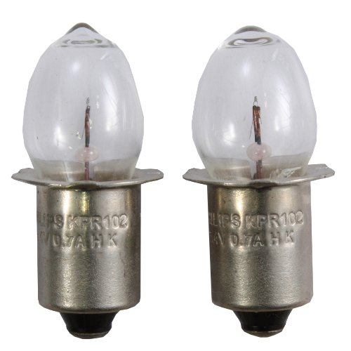 Coleman 2.4V 0.7a Krypton Replacement Bulb 2/Card for Companion Lantern (5373L700)