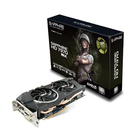 Sapphire 11197-11-40G AMD Radeon HD 7970 3GB - Tarjeta gráfica (AMD, Radeon HD 7970, 4096 x 2160 Pixeles, 3 GB, GDDR5-SDRAM, 384 bit)