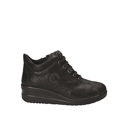 Iv5416c Chaussures Doux Chaussures Cinzia Avec Femmes Lacets Noirs gb Cinzia xw1Swq6