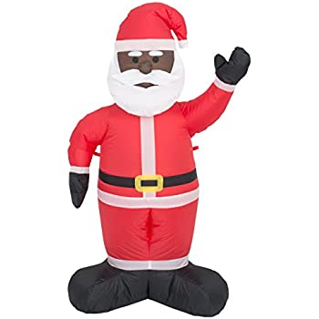 Costume Agent Inflatable Airblown Indoor and Outdoor Christmas Decoration (4 feet Black Santa)  sc 1 st  Amazon.com & Amazon.com: Inflatable Kangaroo Decoration: Garden u0026 Outdoor