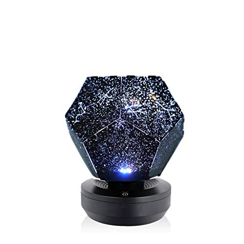 Newkelly Play Starry Sky Projection Rotating Lamp Stars Romantic Starry ()