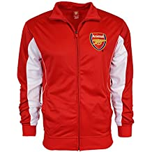 Arsenal Jacket Track RED Homme Soccer Adult Sizes Soccer Football Official Merchandise