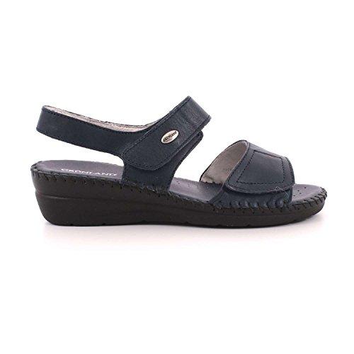 Sandalo SA1750 Blu Cera P GRUNLAND Donna PU0qw