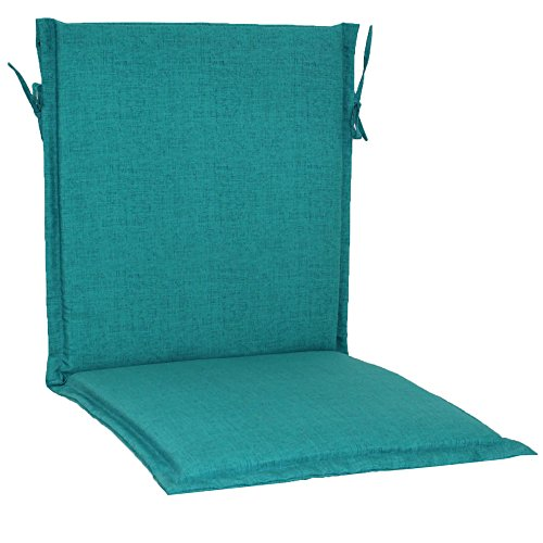 Brentwood Originals 35307 Indoor/Outdoor Sling Chair Cushion, Turquoise (Chair Brentwood Cushions)