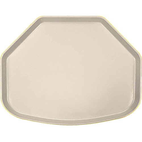 - Camtray, Trapezoid, 14-9/16'' X 19-1/2'', Cameo Yellow, Nsf Special Order Item Not Carried In (12 Pieces/Unit)