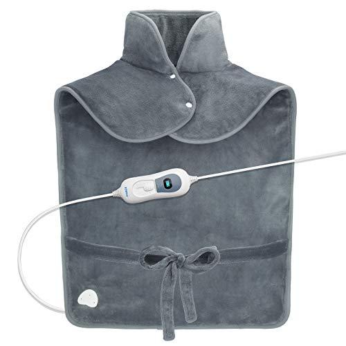 🥇 RENPHO Almohadilla térmica para el alivio del dolor de espalda