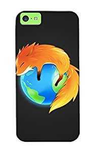 Christmas Day's Gift- New Arrival Cover Case With Nice Design For Iphone 5c- Lovely Fox