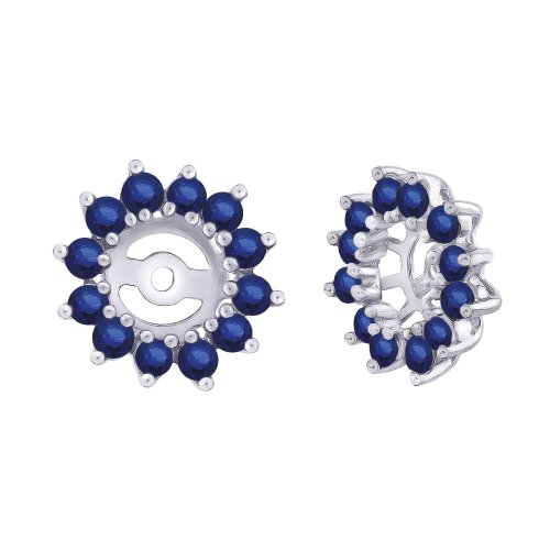 Sapphire Floral Earring Jacket