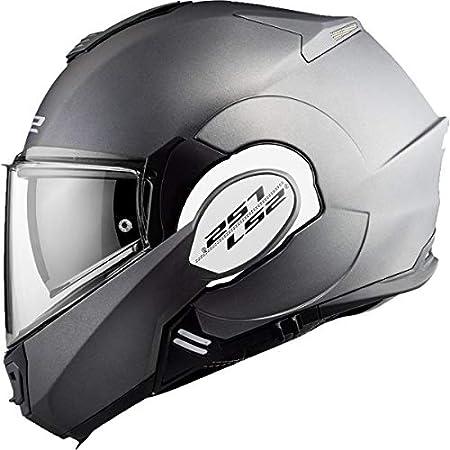 M LS2 VALIANT CHROME Taille M Casque moto LS2 LS2 Chrome