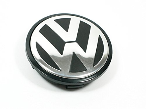 Volkswagen Caddy,EOS,Golf,Jetta,Passat CC,Phaeton,Scirocco,Sharan,Tiguan,Touran,Transporter 65MM Hubcap Wheel Center Cap - Part Number 3B7-601-171 (1 Piece)