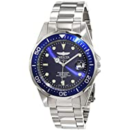 Men's 9204 Pro Diver Collection Silver-Tone Watch