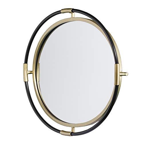 (Southern Enterprises AMZ9098SW Melray Mirror, Black)