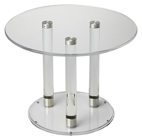 Butler Specialty Company 5167335 BUNCHING Cocktail Table, Clear