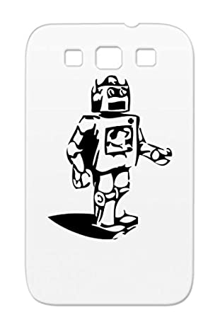 Tpu Black Robot Screw Funny Robotics Cartoon Bolts Futuristic Kids