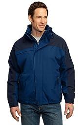 Port Authority Men\'s Nootka Jacket XL Regatta Blue/Navy