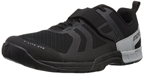 Inov-8 Men's F-LITE 275 (M) Cross Trainer, Black/Silver, 9.5 D US