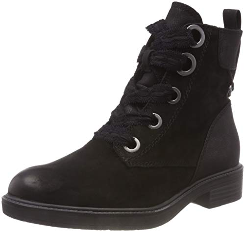 26127 Black Tamaris Combat 1 Women's 21 black Boots wOqzq5