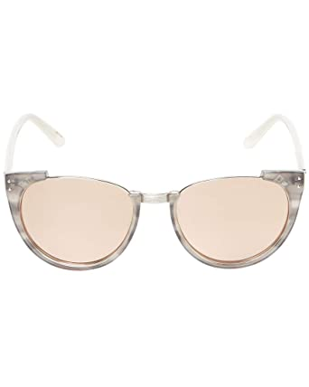 4433a05655d Linda Farrow Womens Luxe 18K Rose Gold Cat-Eye Frame With White Gold  Accents  Amazon.co.uk  Clothing