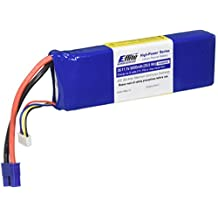 EFL EFLB32003S 3200mAh 3S 11.1V 20C LiPo 13AWG EC3 Battery