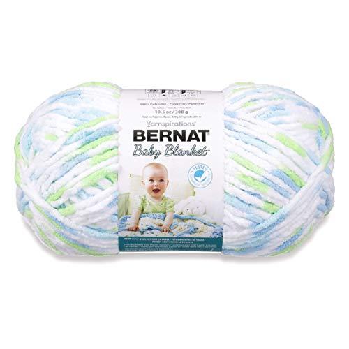 Bernat Baby Blanket Big Ball Funny Prints (Baby Prints Blanket Bernat Funny)