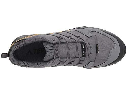 adidas outdoor Men's Terrex Swift R2 GTX¿ Grey Five/Grey Five/Hi-Res Orange 6 D US by adidas outdoor (Image #1)