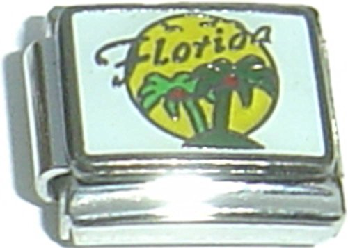 Florida With Palm Trees Italian Charm - Florida Italian Charm