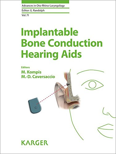Implantable Bone Conduction Hearing Aids (Advances in Oto-Rhino-Laryngology, Vol. 71)