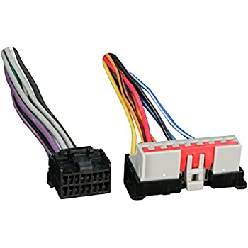 41svksZYG3L._SL500_AC_SS350_ amazon com stereo wire harness ford f 150 97 98 1997 1998 (car 1998 ford explorer stereo wiring harness at suagrazia.org