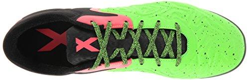 adidas Performance Herren X 15,2 CT Fußballschuh Kern Black / Flash Red S15 / Solar Grün