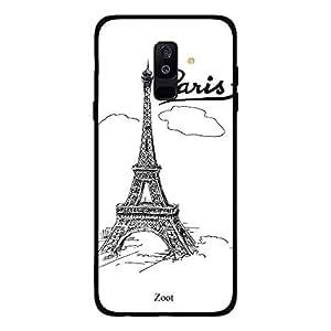 Samsung Galaxy A6 Plus Doodle Eiffel Tower