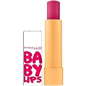 Maybelline New York Baby Lips Moisturizing Lip Balm, Cherry Me, 0.15 oz.